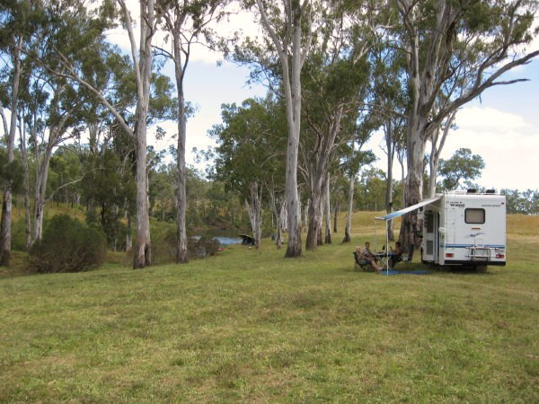 Some of our campsites are large enough for multiple caravans